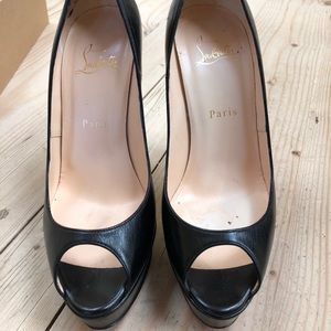 Christian Louboutin platform heels